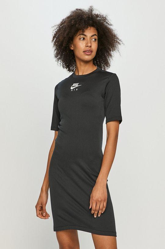 czarny Nike Sportswear - Sukienka Damski
