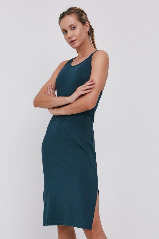 4F - Šaty tmavě zelená