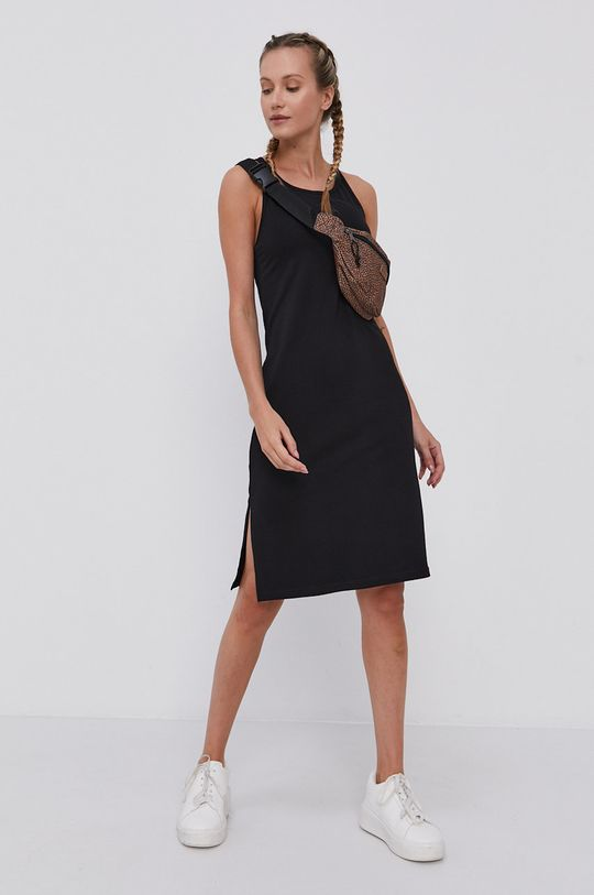 4F - Sukienka czarny