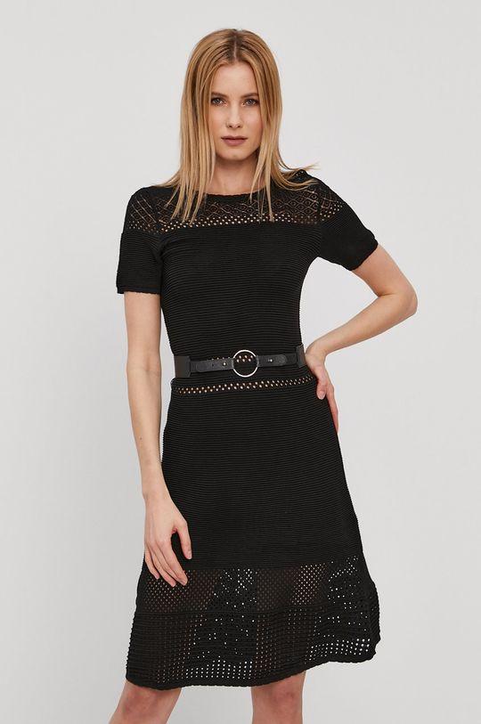 čierna Morgan - Šaty Dámsky