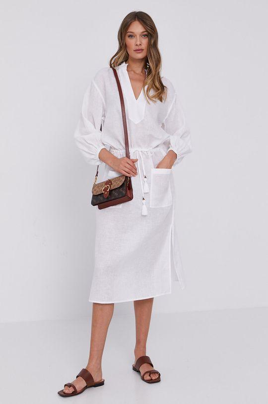 Tory Burch - Sukienka biały