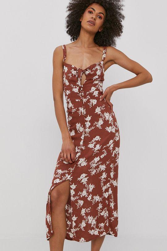 brązowy Billabong - Sukienka Damski