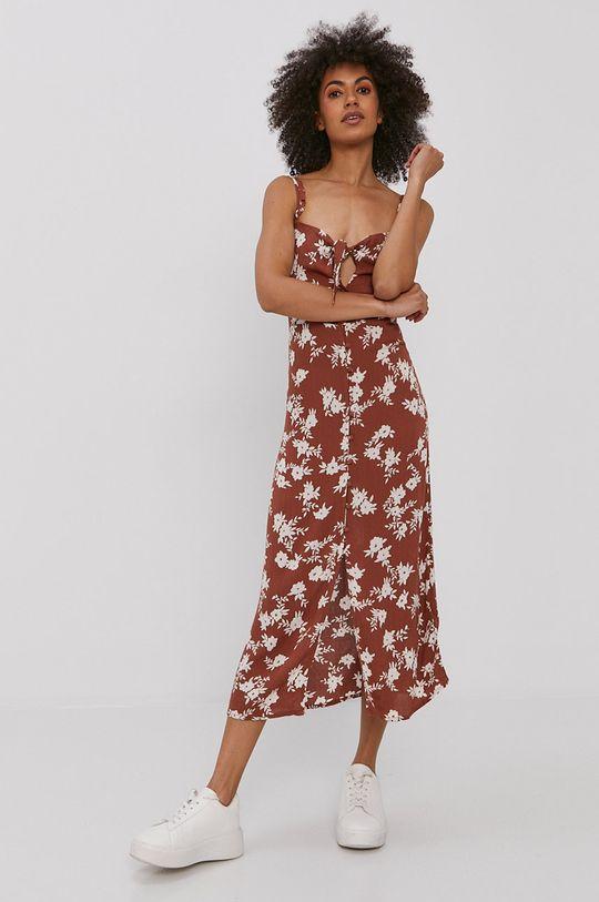 Billabong - Sukienka brązowy