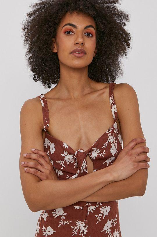 brązowy Billabong - Sukienka