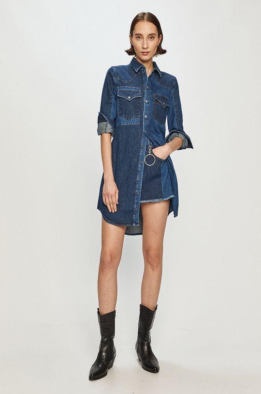 modrá Diesel - Džínové šaty