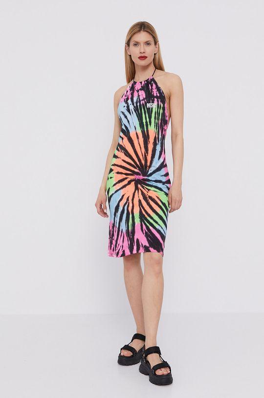 Diesel - Sukienka multicolor
