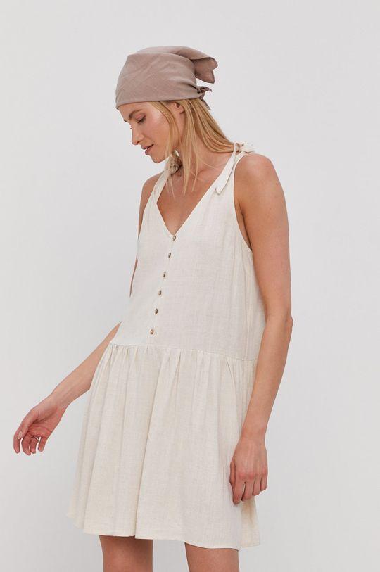 piaskowy Y.A.S - Sukienka