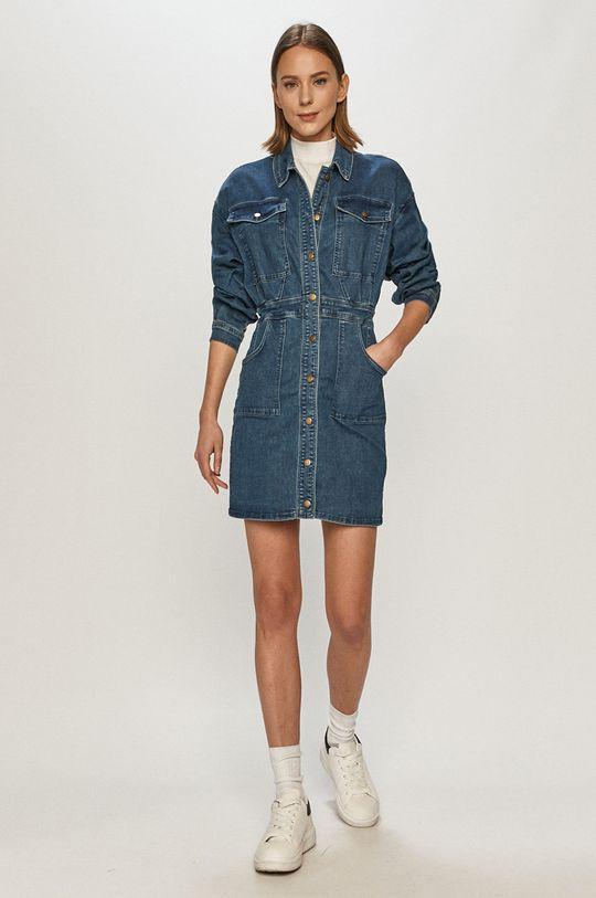 Tally Weijl - Džínové šaty modrá