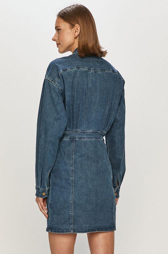Tally Weijl - Džínové šaty  62% Bavlna, 3% Elastan, 32% Polyester, 3% Viskóza