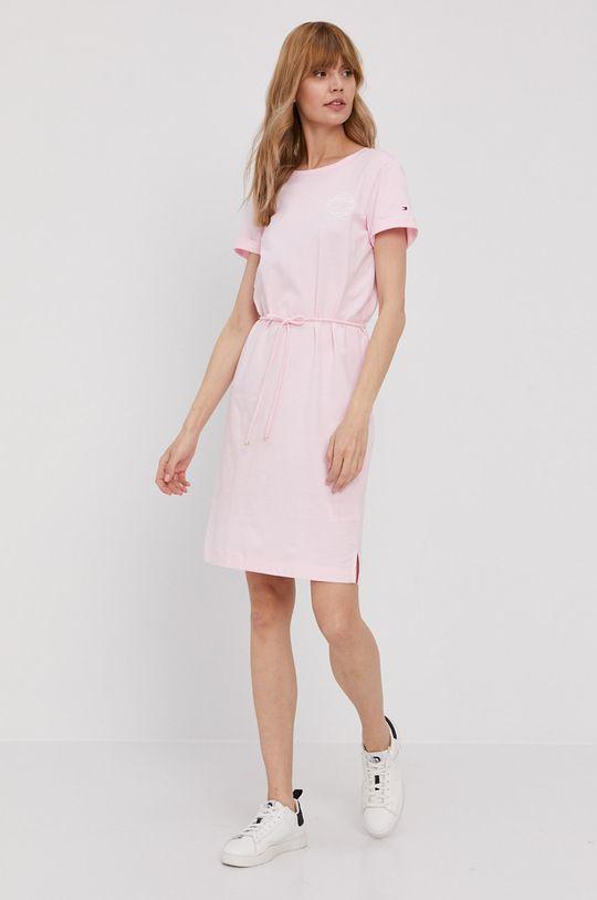 Tommy Hilfiger - Sukienka różowy