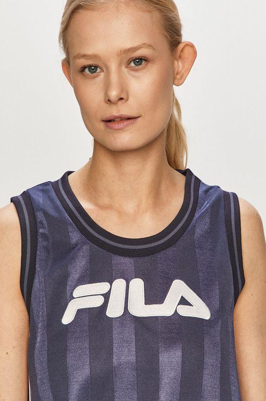 granatowy Fila - Sukienka
