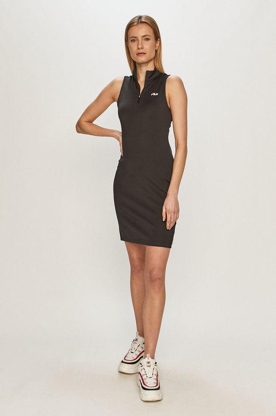 Fila - Sukienka czarny