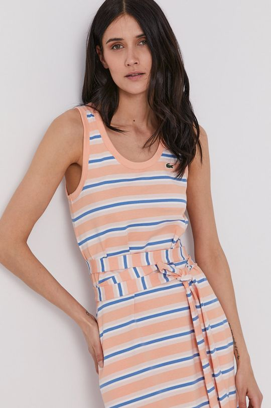 pomarańczowy Lacoste - Sukienka