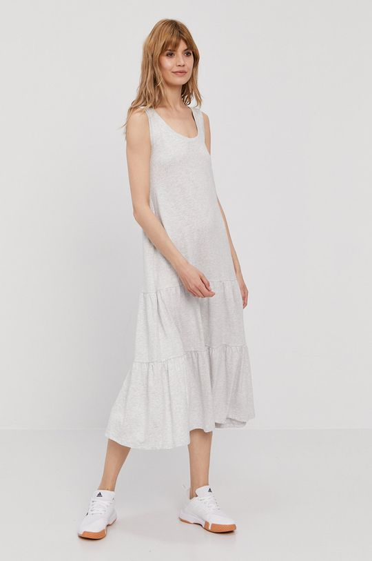 světle šedá GAP - Šaty