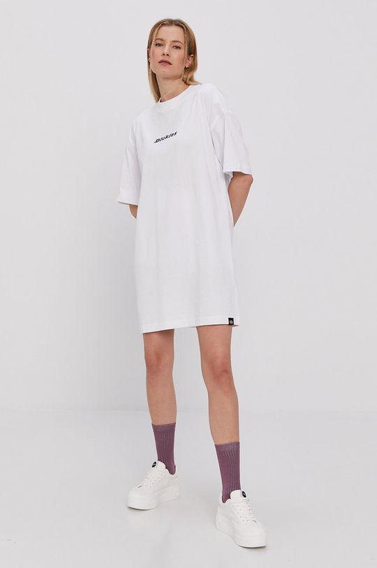 Dickies - Sukienka biały