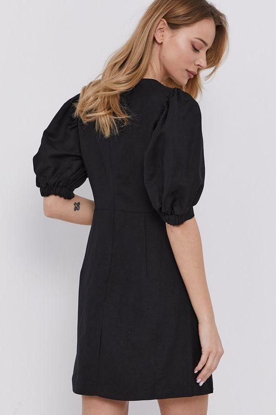 Bardot - Sukienka Podszewka: 5 % Elastan, 95 % Poliester, Materiał zasadniczy: 55 % Len, 45 % Wiskoza