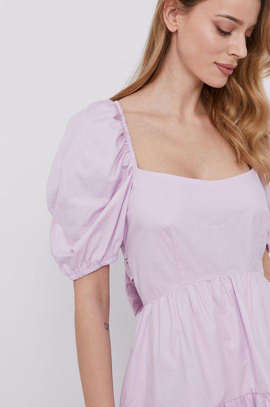 lavanda Bardot - Rochie