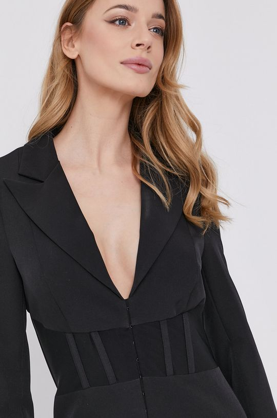 čierna Bardot - Šaty