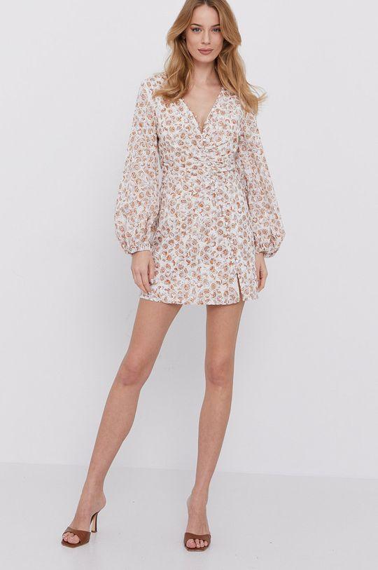 Bardot - Šaty béžová