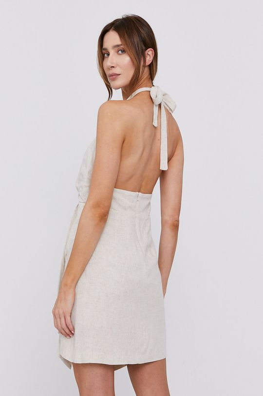 Bardot - Sukienka Podszewka: 100 % Bawełna, Materiał zasadniczy: 30 % Len, 70 % Wiskoza