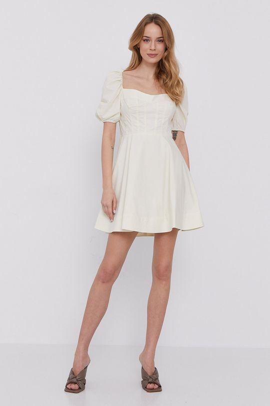 Bardot - Sukienka kremowy