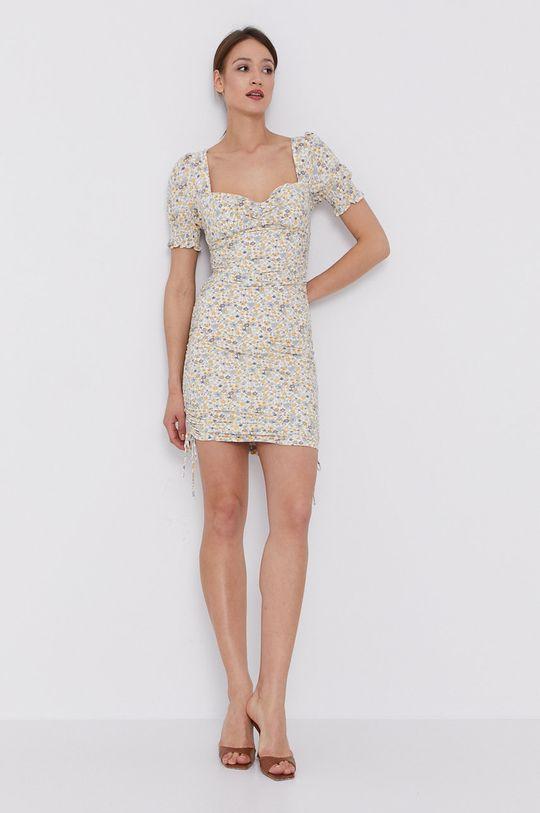 Bardot - Šaty krémová