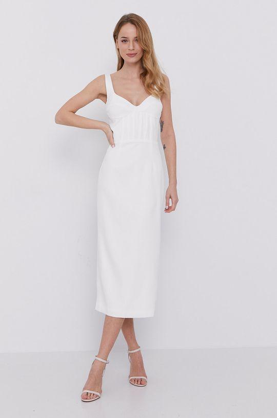 biały Bardot - Sukienka Damski