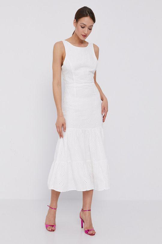 biela Bardot - Šaty