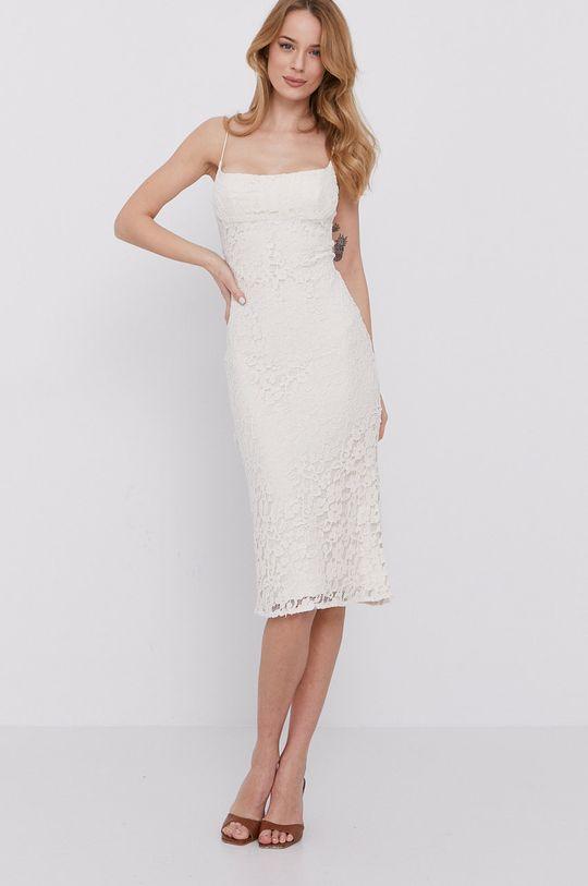piaskowy Bardot - Sukienka Damski