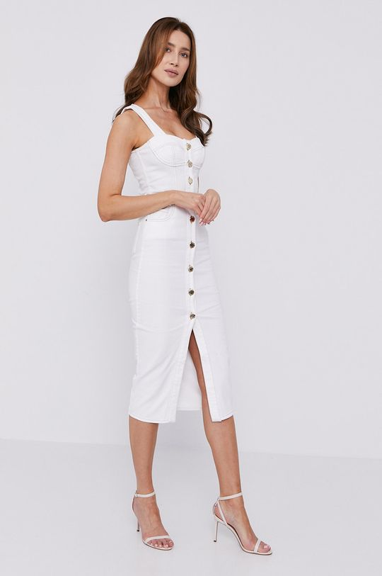 Pinko - Šaty biela