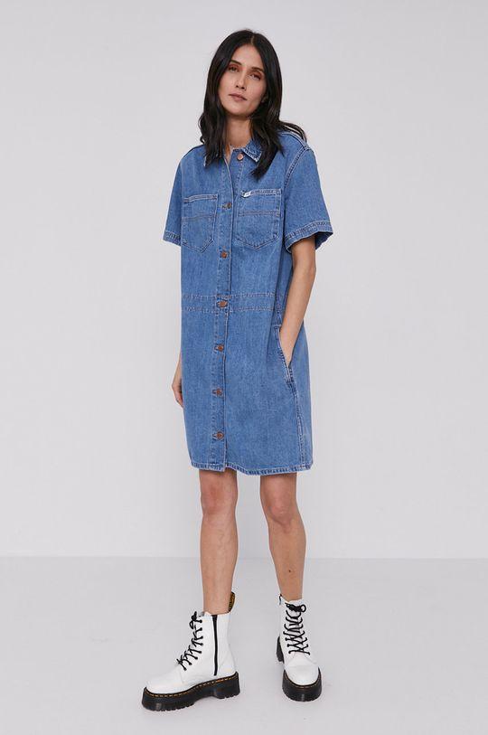modrá Wrangler - Rifľové šaty Dámsky