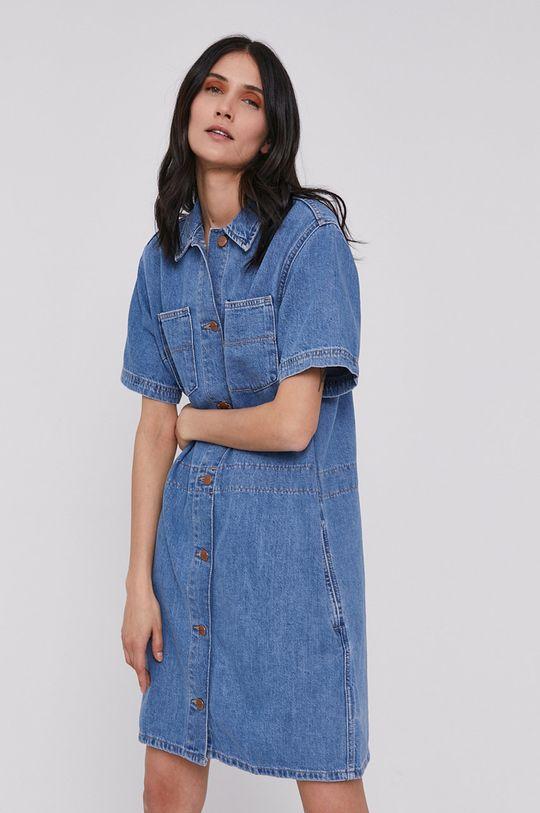 modrá Wrangler - Rifľové šaty