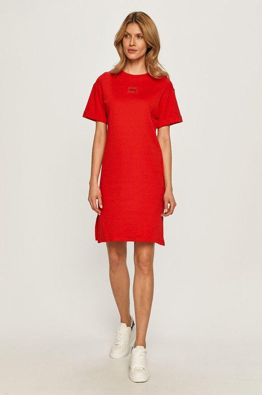 Hugo - Šaty červená