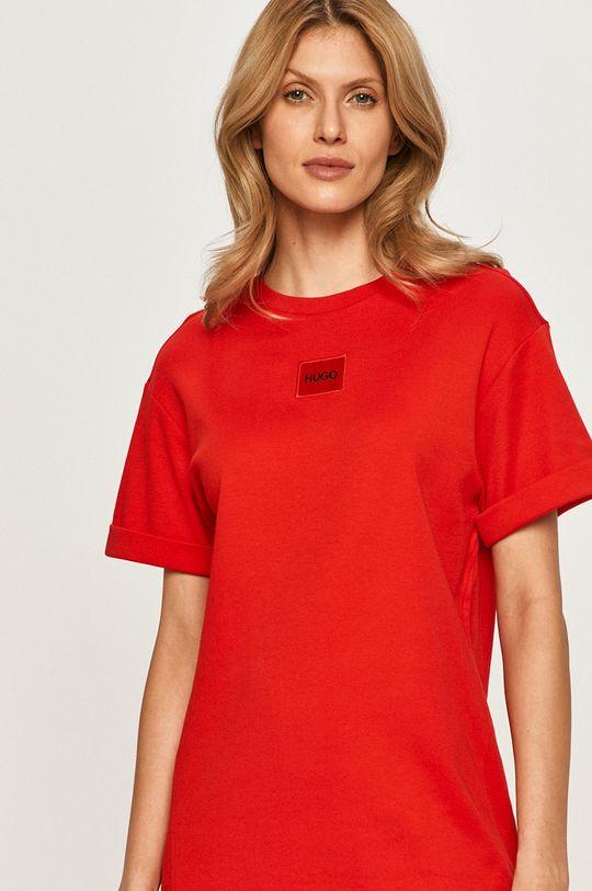 červená Hugo - Šaty