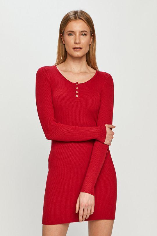 czerwony Tally Weijl - Sukienka