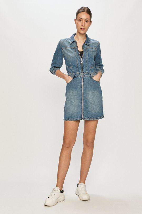 Tally Weijl - Sukienka jeansowa niebieski