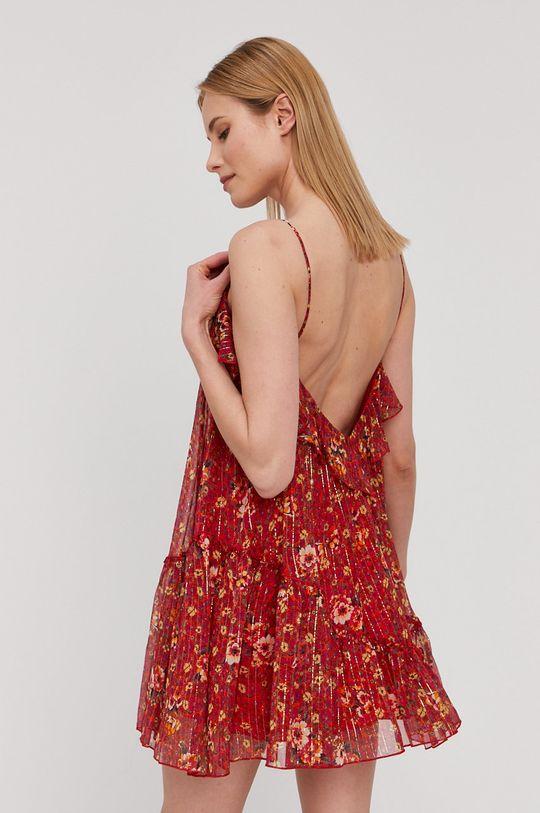 NISSA - Sukienka Materiał 1: 95 % Jedwab, 5 % Włókno metaliczne, Materiał 2: 100 % Wiskoza