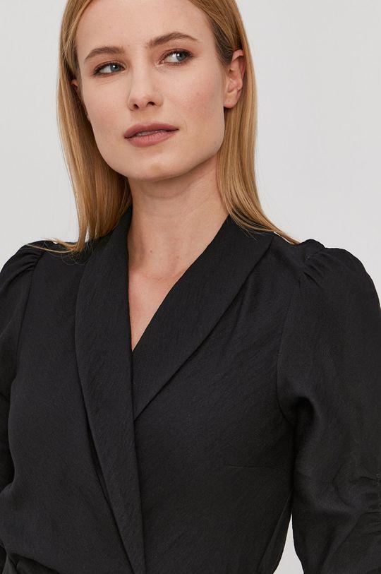 czarny NISSA - Sukienka