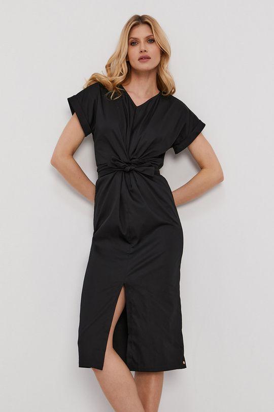 černá NISSA - Šaty Dámský
