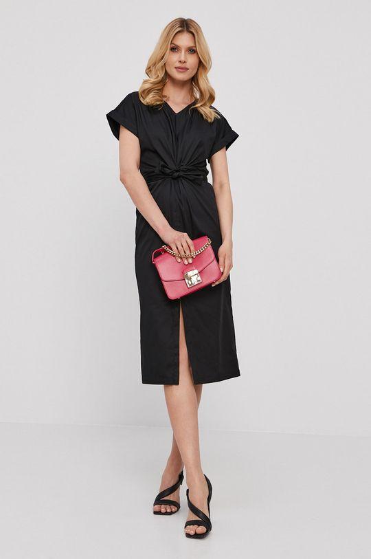 NISSA - Šaty černá
