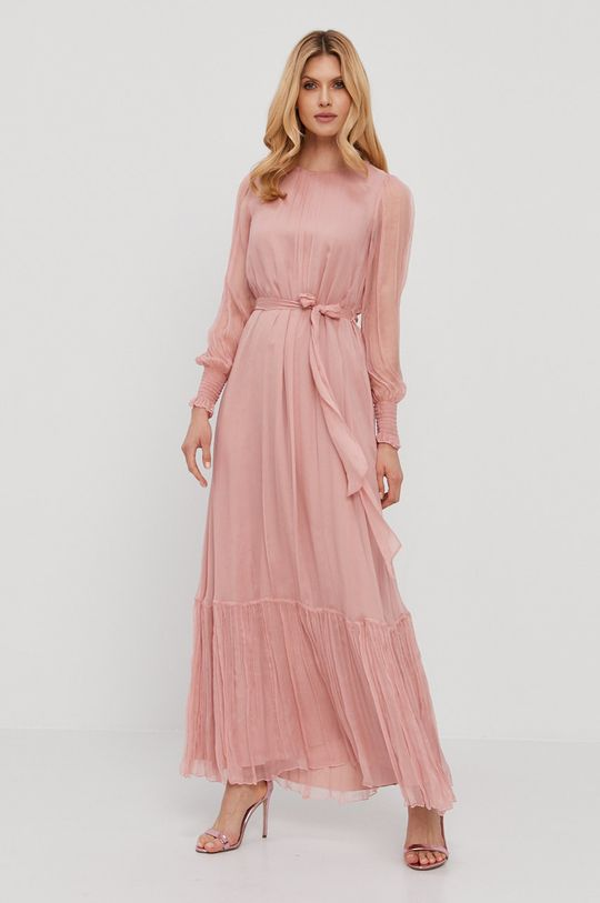 różowy NISSA - Sukienka Damski