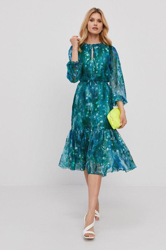 turkusowy NISSA - Sukienka Damski