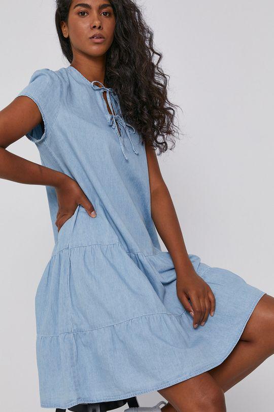 niebieski Mustang - Sukienka