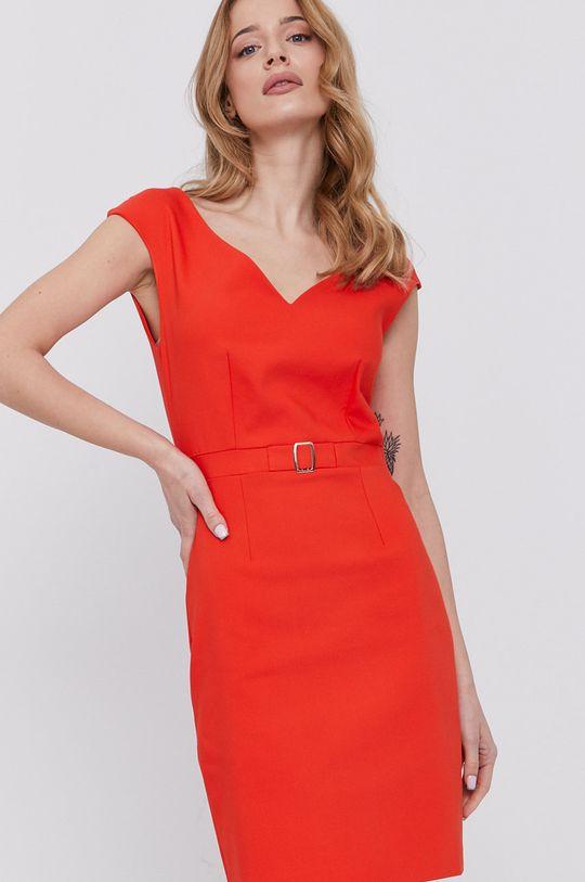 oranžová Morgan - Šaty Dámsky