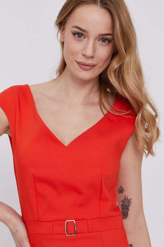 oranžová Morgan - Šaty