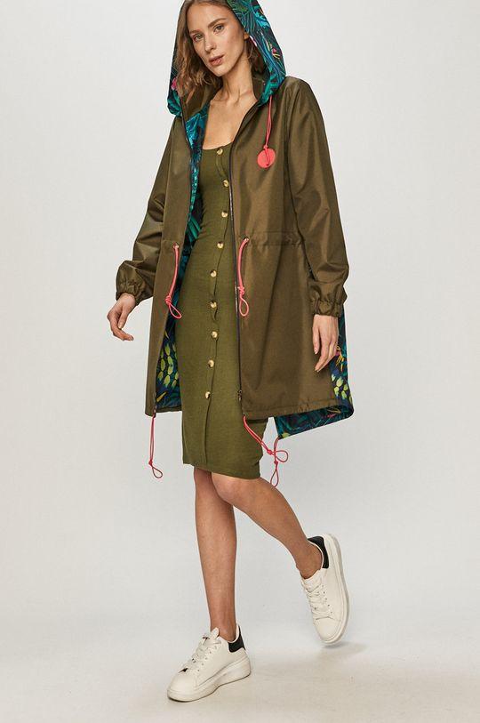 Brave Soul - Šaty olivová