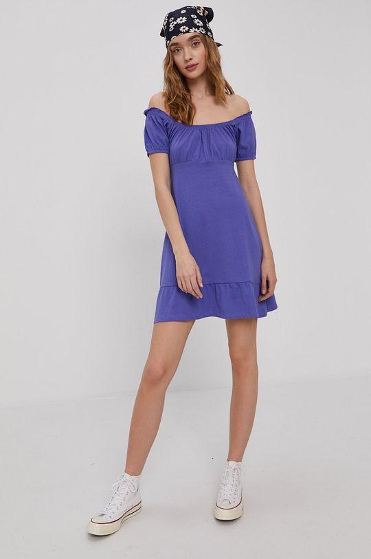 purpurowy Brave Soul - Sukienka Damski