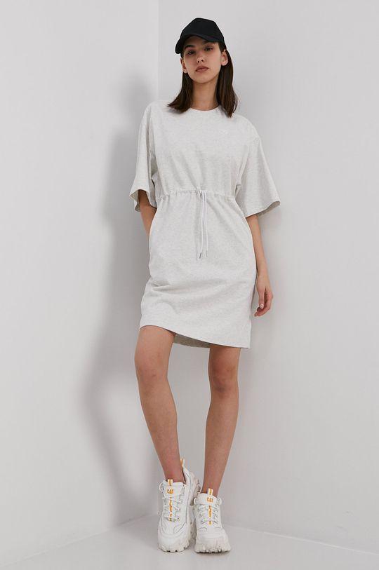 New Balance - Šaty světle šedá