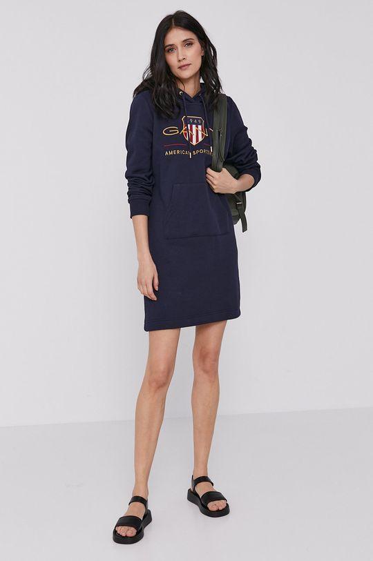 Gant - Šaty tmavomodrá