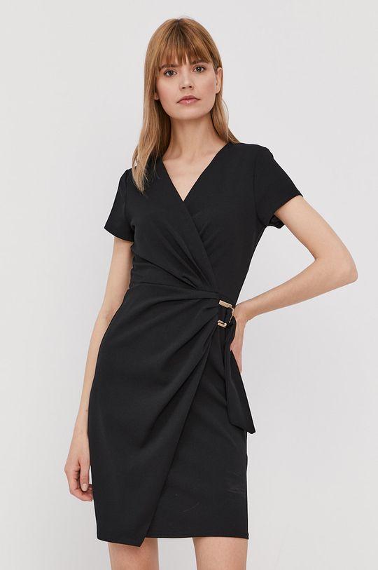 czarny Morgan - Sukienka Damski